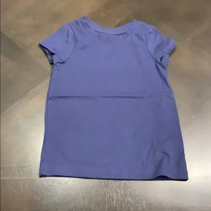 5/$10 | cat and jack navy T-shirt 3t